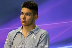 Esteban Ocon, Manor Racing at FIA Press Conference