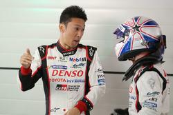 Kazuki Nakajima and Anthony Davidson, Toyota Racing