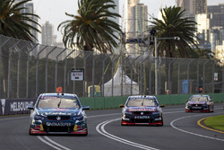Craig Lowndes, Triple Eight Race Engineering Holden and Shane van Gisbergen, Triple Eight Race Engineering Holden