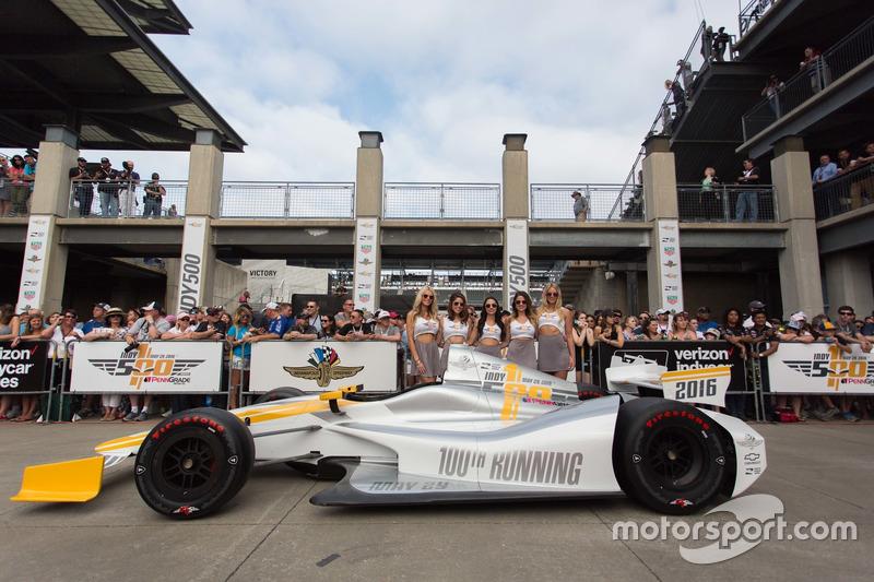Indy 500官方赛事女郎