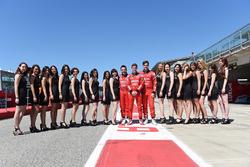 Sergey Afanasyev, James Nash, Pepe Oriola, Team Craft-Bamboo, SEAT León TCR with grid girls