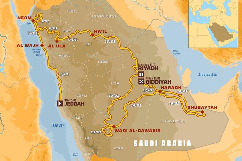Dakar-2020 : un nouveau challenge controversé en Arabie saoudite