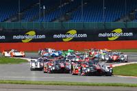 WEC Photos - Start: #7 Audi Sport Team Joest Audi R18: Marcel Fässler, Andre Lotterer, Benoit Tréluyer leads