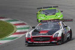 #10 Hofor-Racing Mercedes SLS AMG GT3: Michael Kroll, Christiaan Frankenhout, Kenneth Heyer, Roland Eggimann, Chantal Kroll