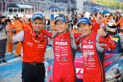 GT500 race winners Tsugio Matsuda, Ronnie Quintarelli, Nismo