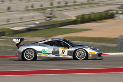 #17 Ferrari of Beverly Hills Ferrari 458: Alistair Garnett