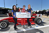 Indy Lights Photos - Pole sitter Zach Veach, Belardi Auto Racing