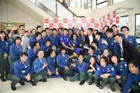 MotoGP Photos - Valentino Rossi, Movistar Yamaha MotoGP visit X refinery and R&D Center in Yokohama
