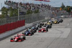 Start: Felix Rosenqvist, Belardi Auto Racing leads