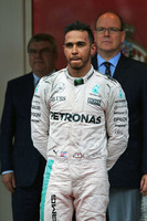 Formula 1 Photos - Podium: race winner Lewis Hamilton, Mercedes AMG F1