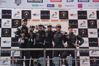Lamborghini Super Trofeo Photos - Second place Armaan Ebrahim and Dilantha Malagamuva in Race 2