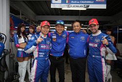 GT500 polesitter #6 Lexus Team LeMans Lexus RC F: Kazuya Oshima, Andrea Caldarelli