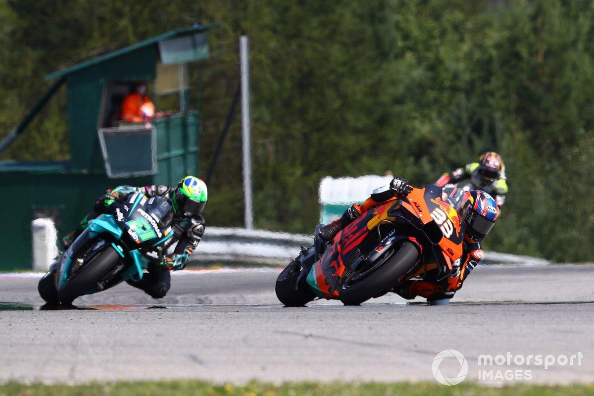 1er succès pour Binder et KTM en République tchèque, Zarco 3e — Moto