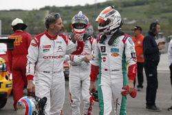 Yvan Muller, Citroën World Touring Car Team and Mehdi Bennani, Sébastien Loeb Racing, Citroën C-Elysée WTCC