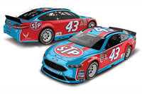 NASCAR Sprint Cup Photos - Aric Almirola, Richard Petty Motorsports Ford special throwback scheme