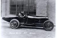 IndyCar Photos - Race winner Howdy Wilcox