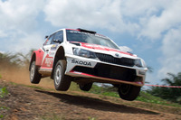 Other rally Photos - Gaurav Gill, Glenn MacNeall, Skoda Fabia R5, Team MRF