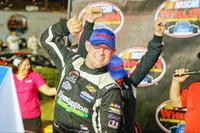 NASCAR Photos - Race winner Burt Myers