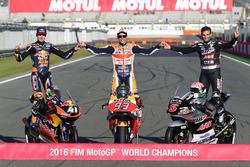 MotoGP 2016 Motogp-valencia-gp-2016-the-three-2016-champions-motogp-champion-marc-marquez-repsol-honda