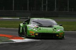 #19 GRT Grasser Racing Team, Lamborghini Huracan GT3: Luca Stolz, Michele Beretta, Andrea Piccini