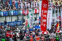 Fans at Grandstand