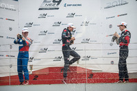 Formula 4 Photos - Podium: winner Richard Verschoor, second place Nikita Sitnikov, third place Aleksey Korneev