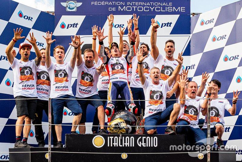 Les réactions de Marquez et Quartararo — MotoGP Buriram