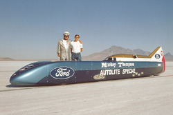 Mickey Thompson and Danny Thompson with the Challenger II