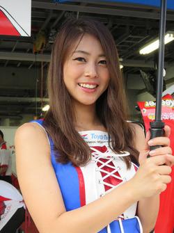 Lovely Toyota girl