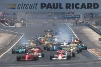 فورمولا 1 صور - انطلاقة سباق جائزة فرنسا الكبرى