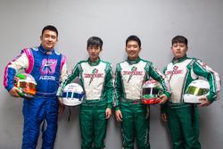 MRT车手阵容吴羽新、李明扬、张昊鹏、梁岩