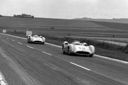 Juan Manuel Fangio and Karl Kling, Mercedes-Benz W 196 R