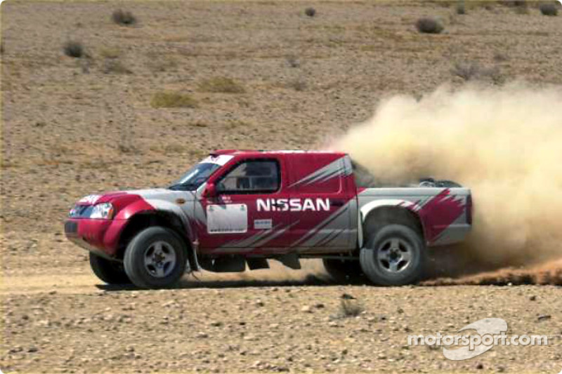 Dakar: Nissan team's fighting spirit