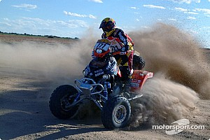 Dakar: Van Deventer, Bombardier retire from rally