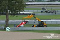 Barrichello gave Montoya enough space