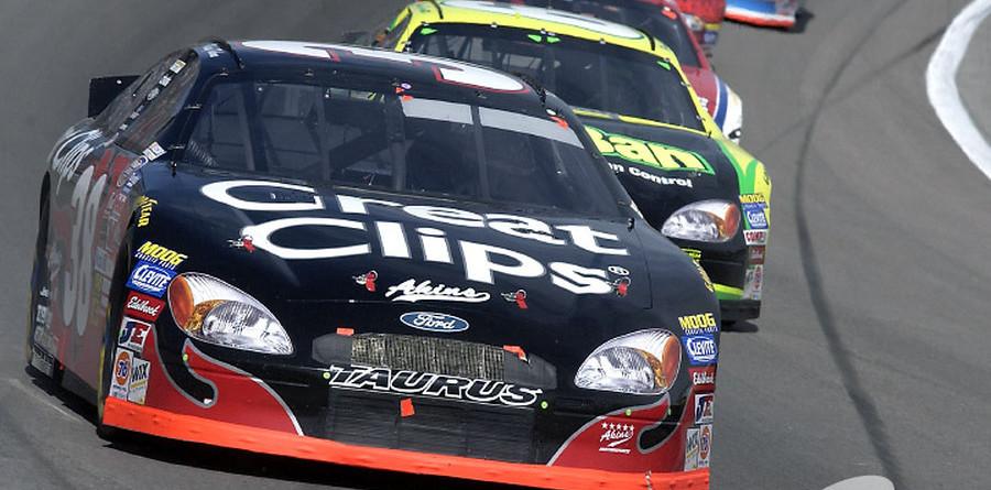 BUSCH: Kahne wins first career race