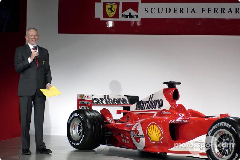 Byrne explains F2004 design