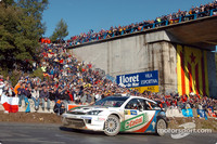 Martin holds on for third win in Rally Catalunya