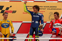 Rossi takes ninth victory of the season in Valencia