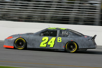 Jeff Gordon out front at Daytona testing