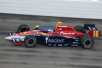 IRL: Patrick zooms to top speed in rookie class