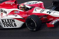 IRL: Wheldon in the zone as 500 practice begins in earnest