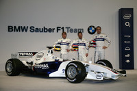 BMW Sauber launches the F1-06 in Valencia