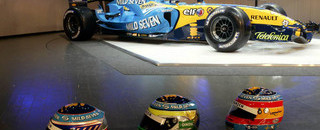 Renault launches the R26 in Monaco