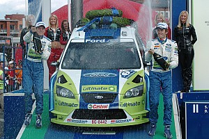 WRC Race report Gronholm easily takes sixth Rally Finland victory