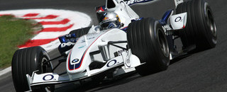 Formula 1 BMW Sauber leads in Italian GP first practice