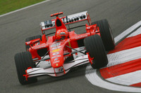 Schumacher leads in Chinese GP last practice