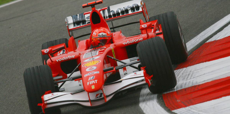Schumacher leads in Chinese GP last practice