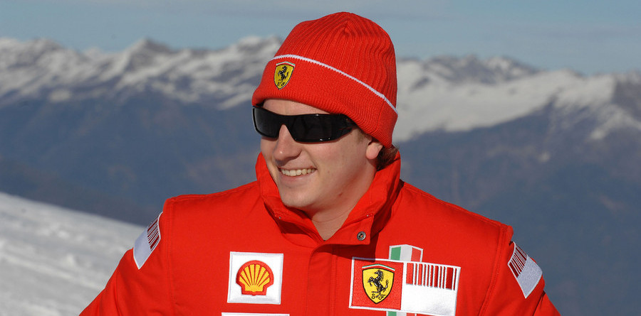 Raikkonen makes Ferrari track debut