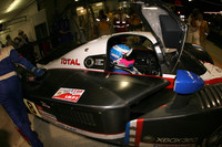 Peugeot retains pole when rain hits area